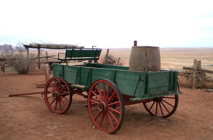 Landscape Photograph - Water Wagon by Fred Wilson