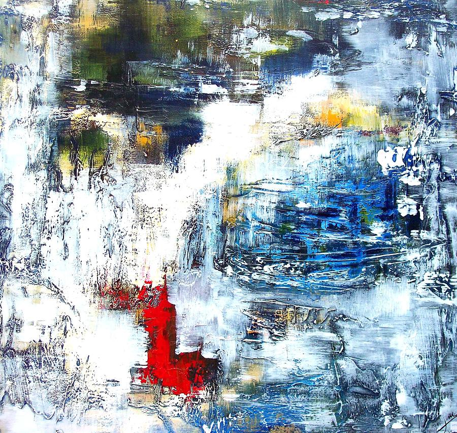 Modern Painting - Water Water Everywhere by Jane Robinson