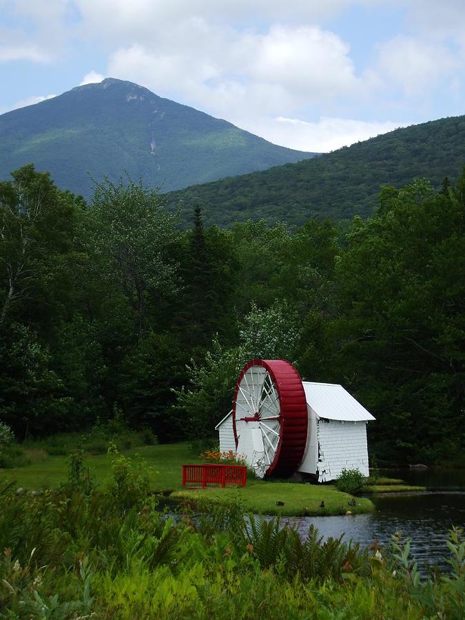 Water Wheel Photograph - Water Wheel  by John Prestipino