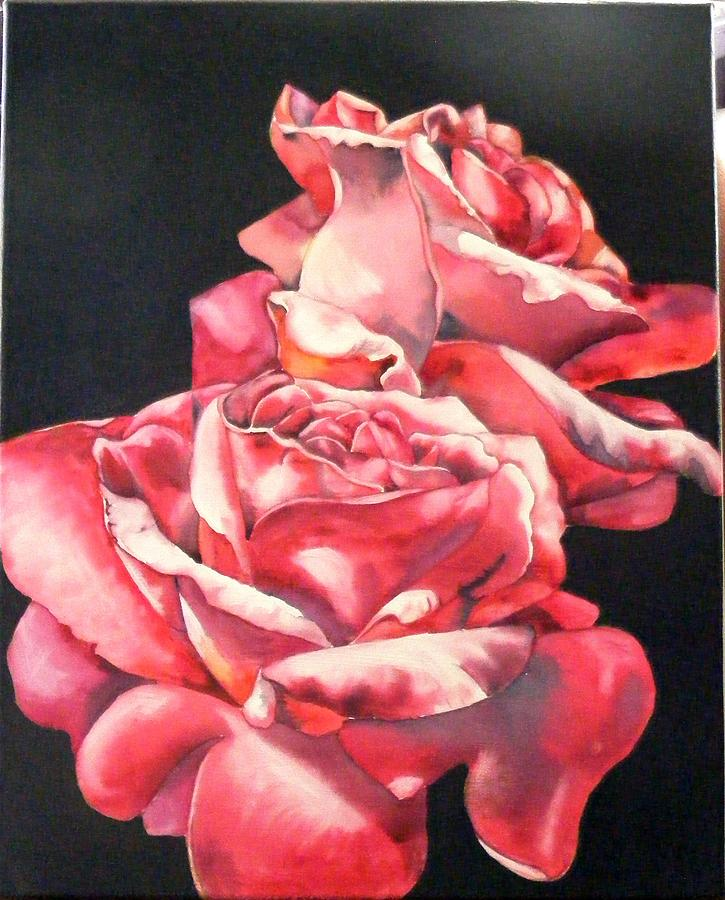 Rose Painting - Watercolor Rose 2 by Diane Ziemski