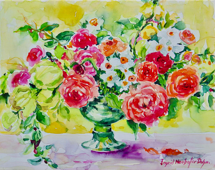 Watercolor Series No. 276 by Ingrid Dohm