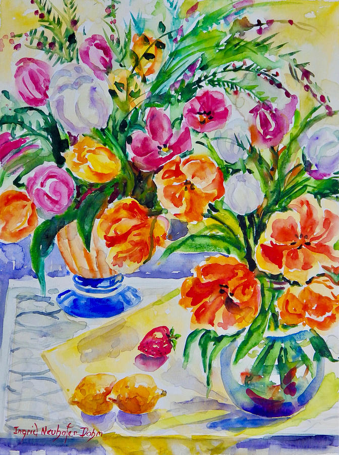 Watercolor Series No. 277 by Ingrid Dohm
