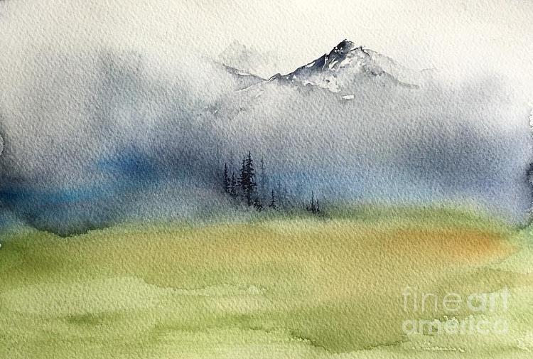 Watercolor Sketch 2 by Carolyn Doe