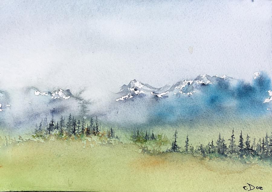 Watercolor Sketch 3 by Carolyn Doe