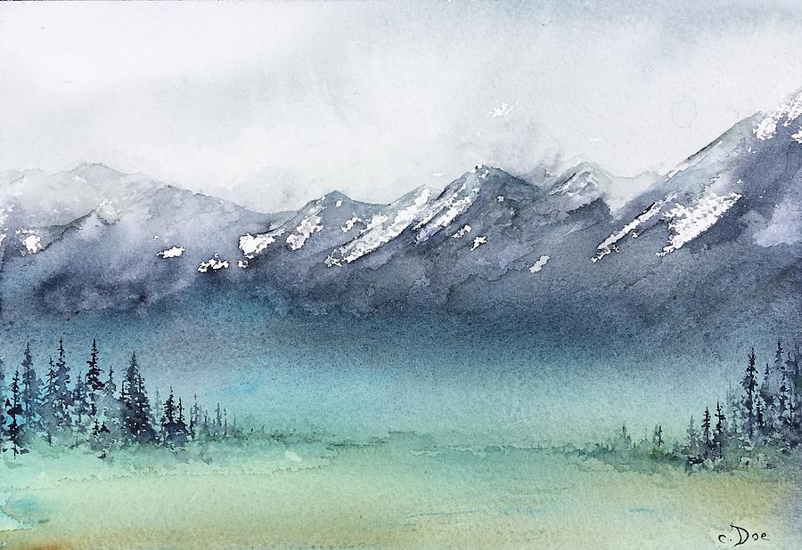 Watercolor Sketch 4 by Carolyn Doe