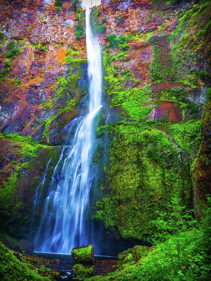 Waterfall Photograph - Waterfall 2 by Jason Brooks