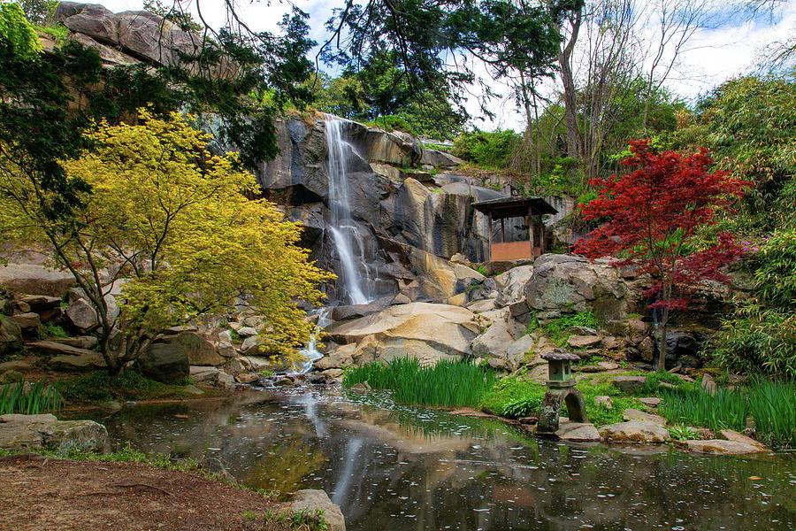 Waterfall At Maymont Park Photograph