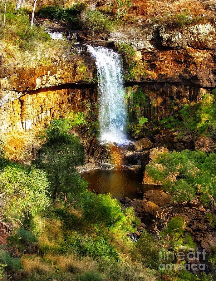 Tumbarumba Photograph - Waterfall Beauty by Blair Stuart