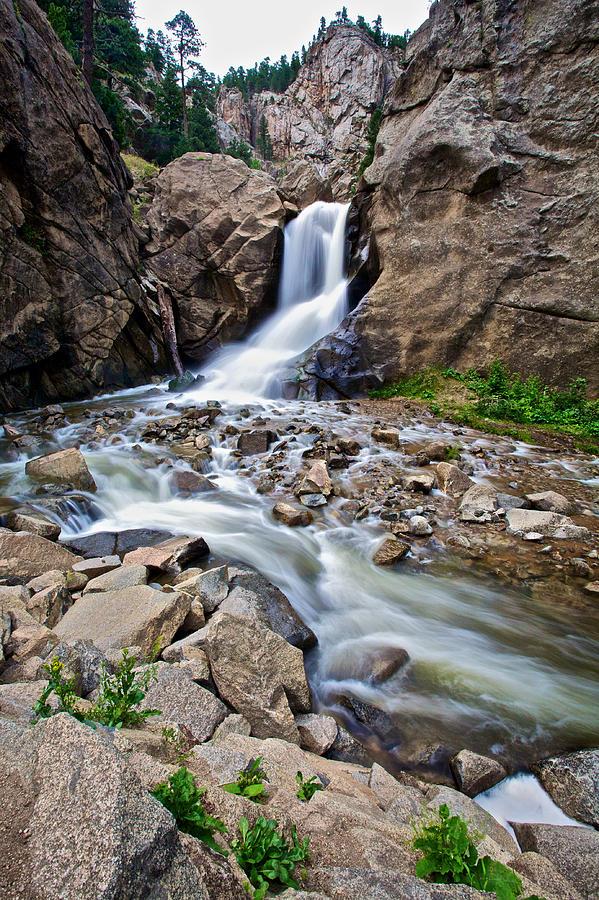 Waterfall Photograph - Boulder Falls by John Daly