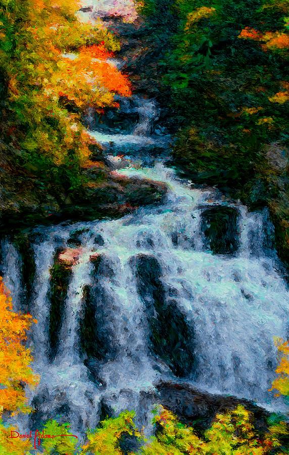 Waterfall by Daniel Adams