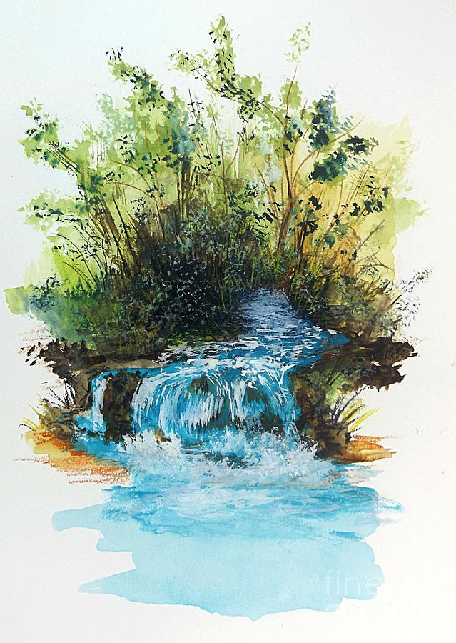 Waterfall by David Neace
