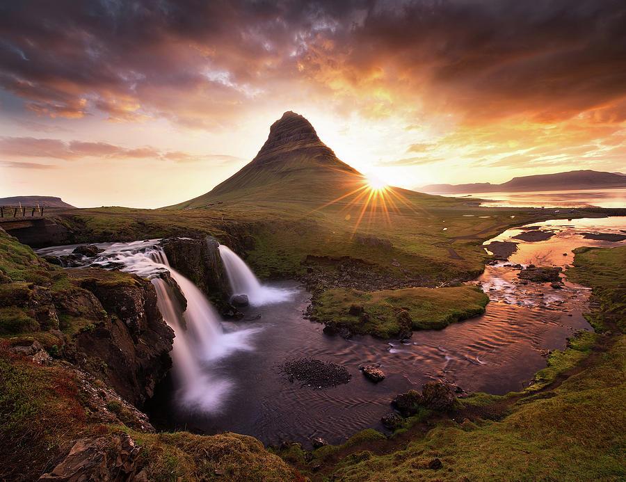 Waterfall Fantasy Photograph by Victor Liu