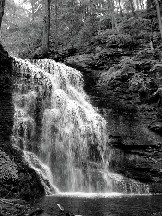 Waterfall Photograph - Waterfall by Jessica Dandridge