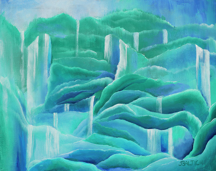 Water Painting - Water by Joe Baltich