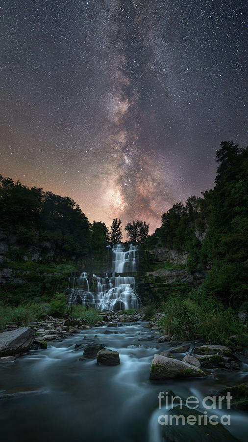 Way Michael Ver Sprill Photograph Milky Waterfall By