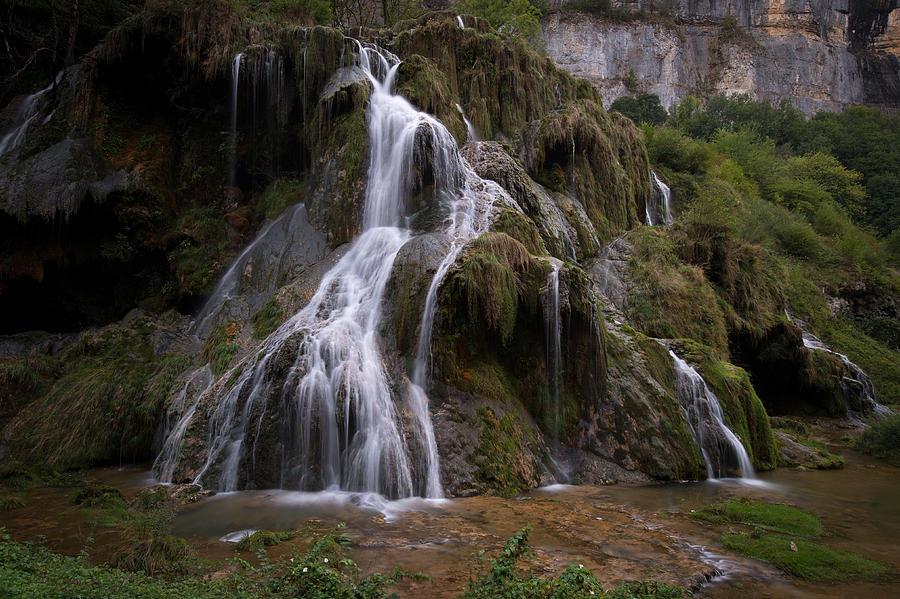 Waterfall Photograph - Waterfall by Wim Slootweg