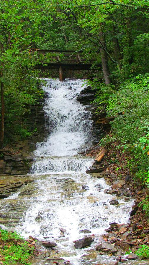 Waterfall Photograph - Waterfall#1 by Shelley Wilson