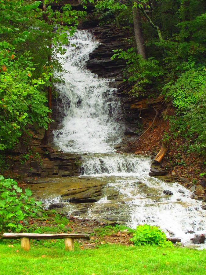 Waterfall Photograph - Waterfall#3 by Shelley Wilson