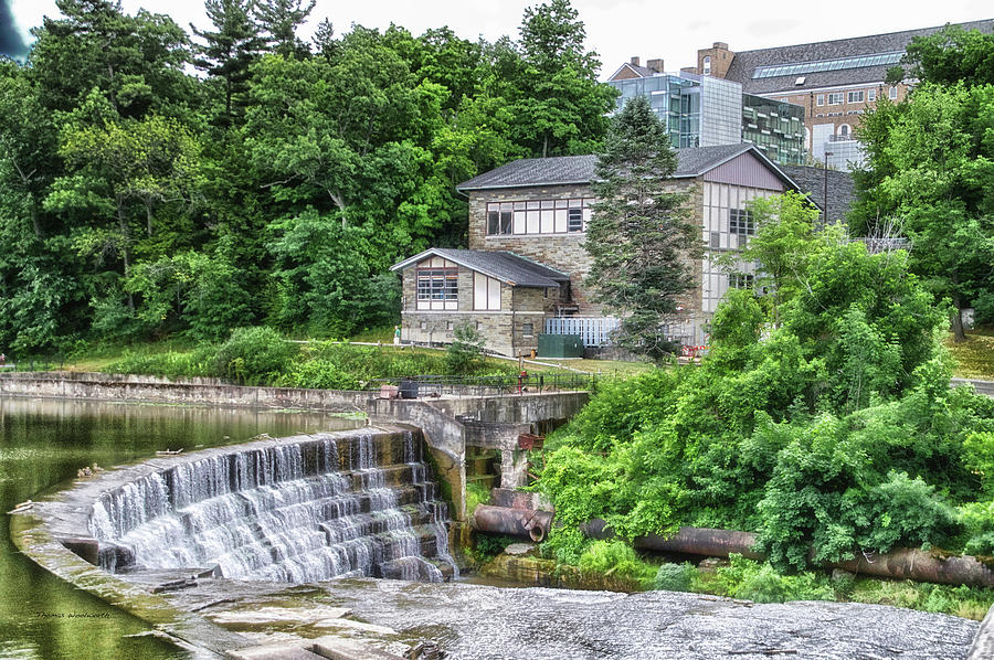 Cornell University Photograph - Waterfalls Cornell University Ithaca New York 04 by Thomas Woolworth