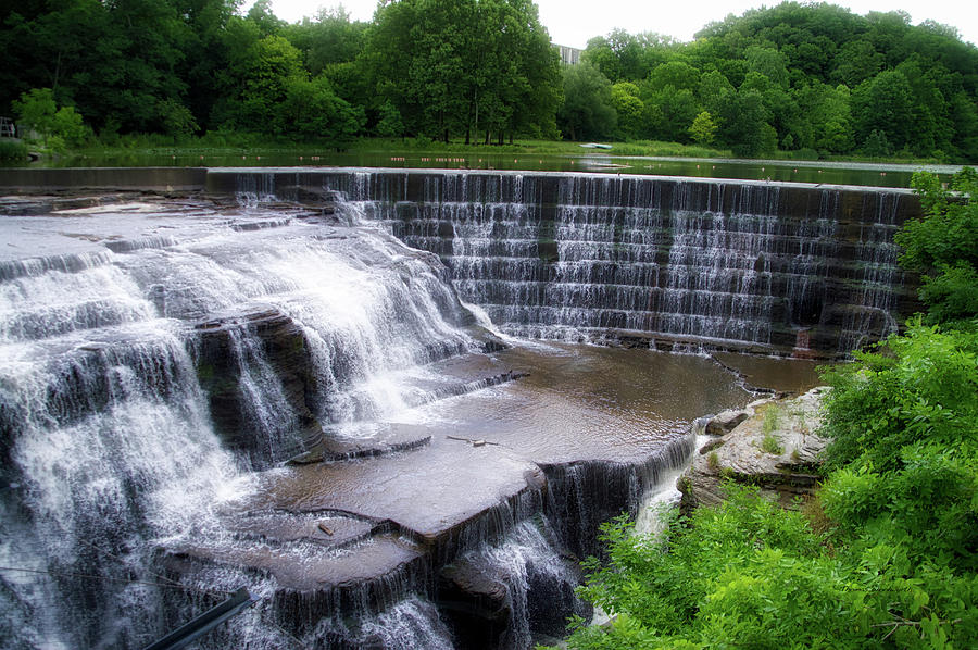Cornell University Photograph - Waterfalls Cornell University Ithaca New York 05 by Thomas Woolworth