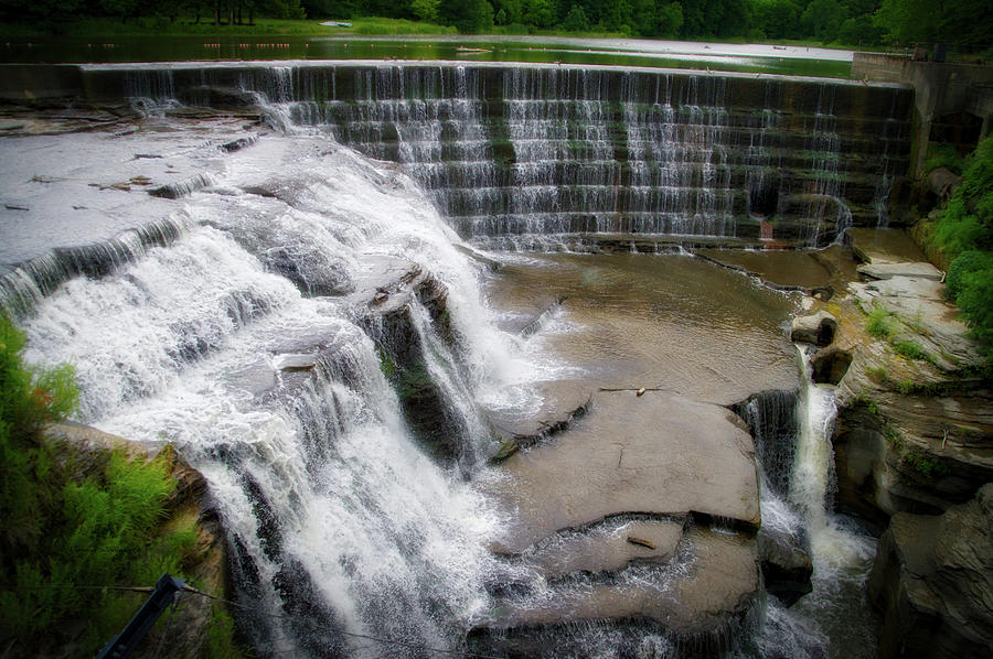 Cornell University Photograph - Waterfalls Cornell University Ithaca New York 06 by Thomas Woolworth