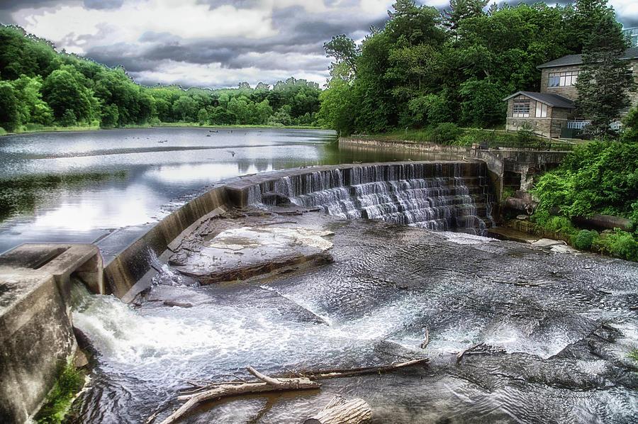 Cornell University Photograph - Waterfalls Cornell University Ithaca New York 07 by Thomas Woolworth