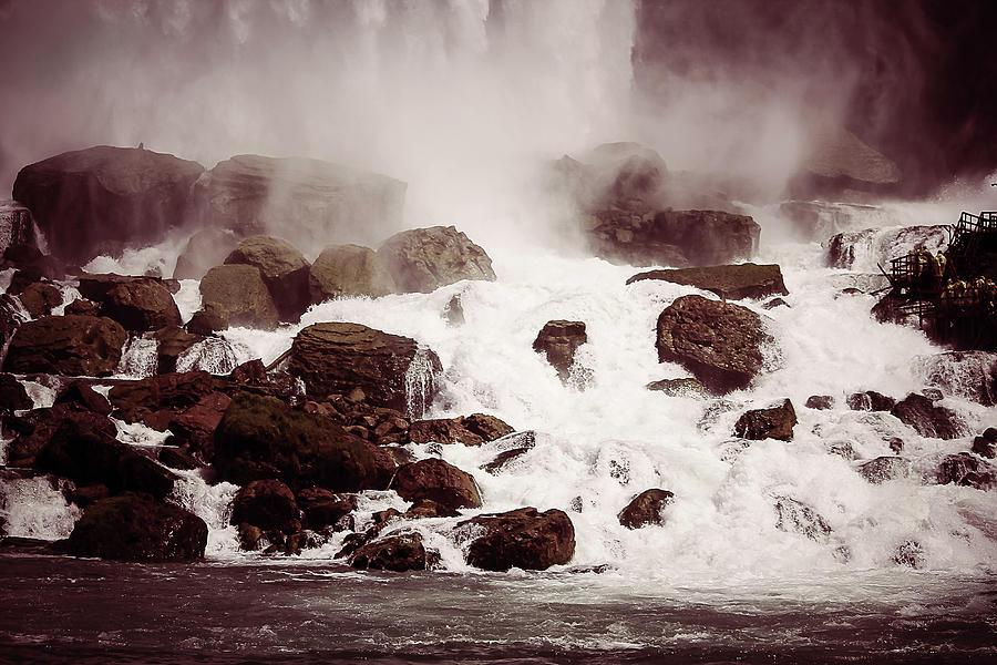 Waterfalls-niagara Photograph