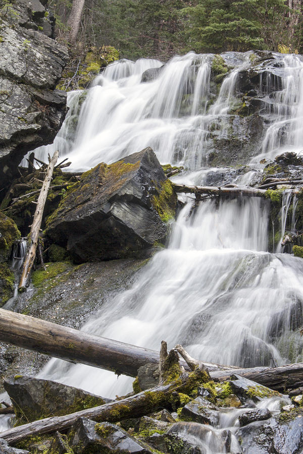 Water Falls Photograph - Waterfalls Of Lost Creek by Dana Moyer