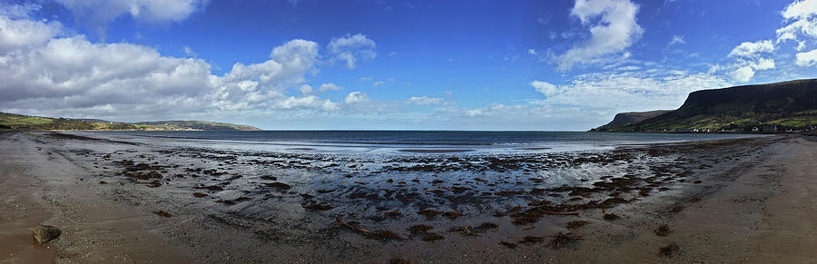 Waterfoot Beach Panorama by Colin Clarke
