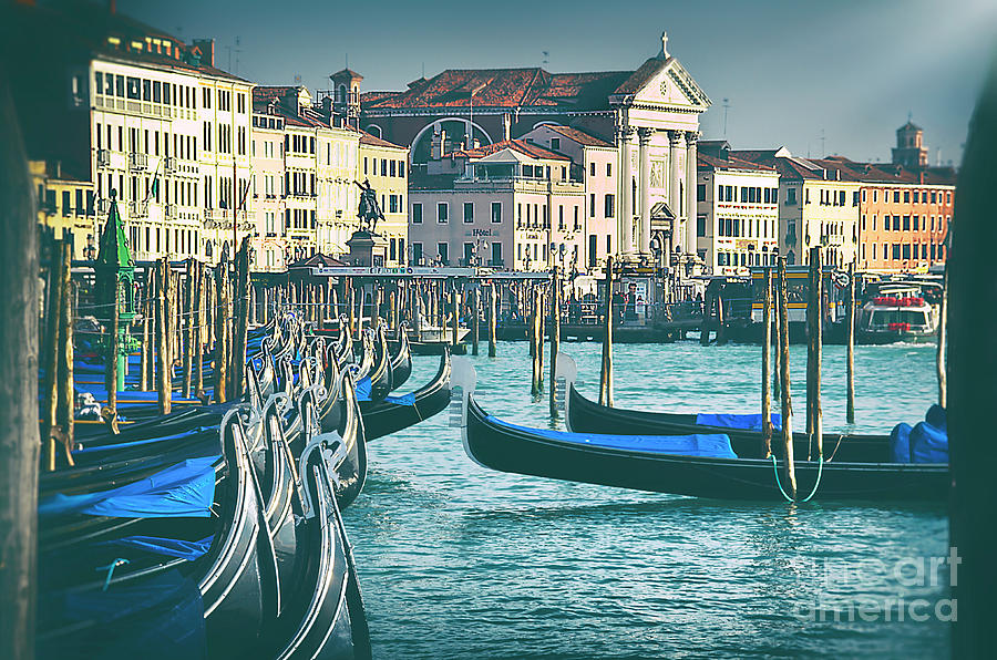 Venice Photograph - Waterfront by Alessandro Giorgi Art Photography