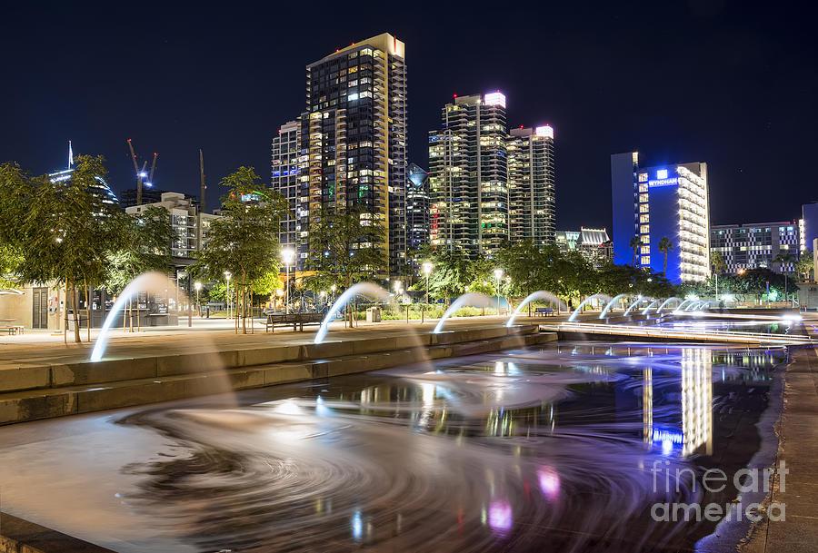 Water Photograph - Waterfront Park by Eddie Yerkish