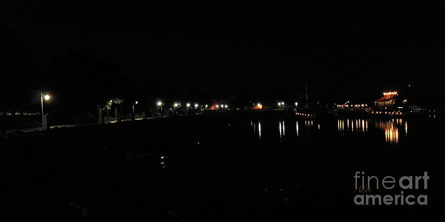 Waterfront Park October Night Photograph