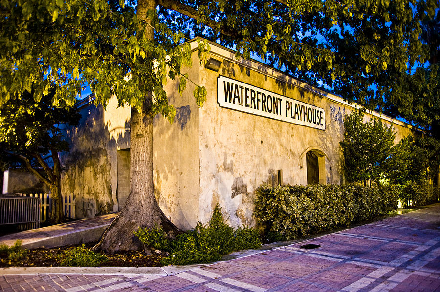 Theater Photograph - Waterfront Playhouse by Sarita Rampersad