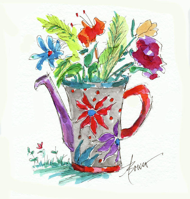Watering Can What? by Adele Bower