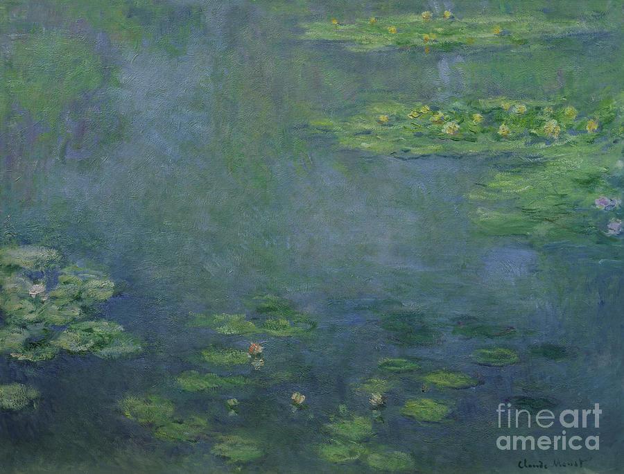 Waterlilies Painting - Waterlilies by Claude Monet