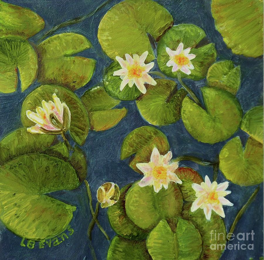 Waterlilies by Lynda Evans