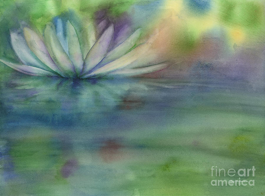 Waterlily Painting - Waterlily by Amy Kirkpatrick
