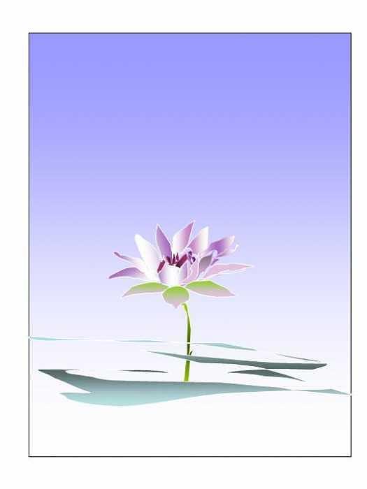 Waterlily Digital Art by Mousumi Mani