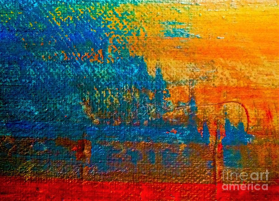 Waterloo Painting - Waterloo Sunset by Michelle Deyna-Hayward