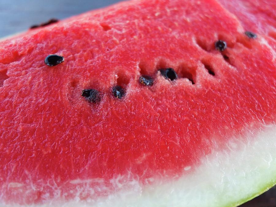 Watermelon Photograph - Watermelon Juicy by Olga Kurygina