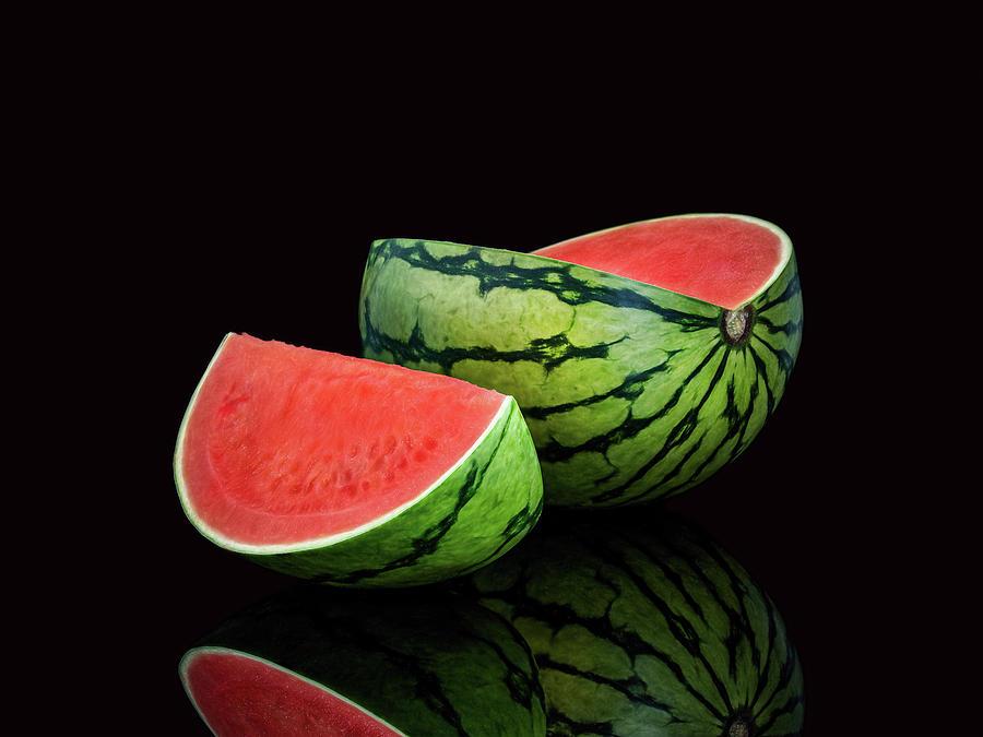 Watermelon Photograph - Watermelon by Libera PhotoArt