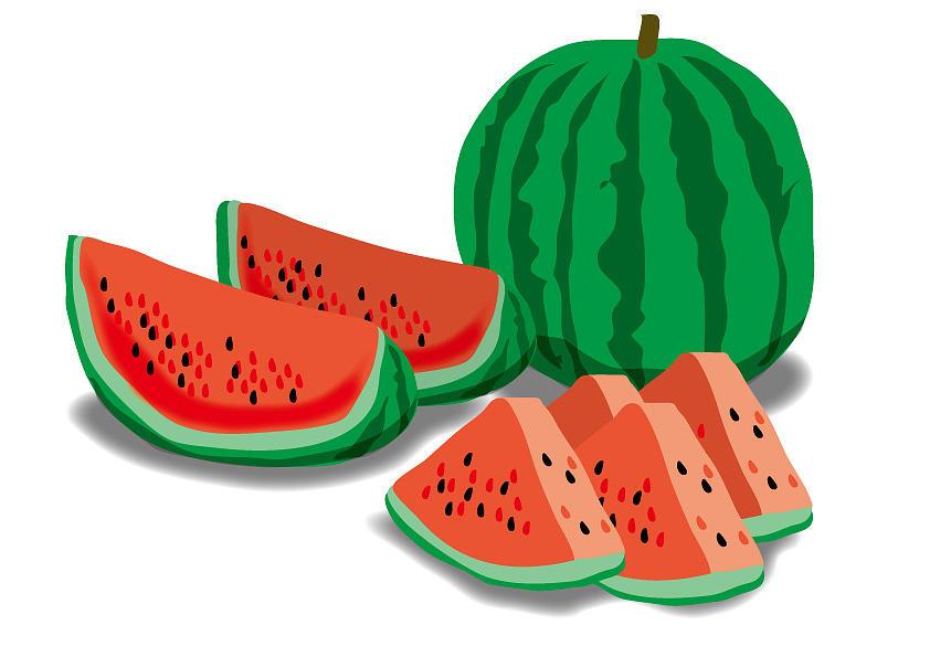 Watermelon Digital Art by Moto-hal