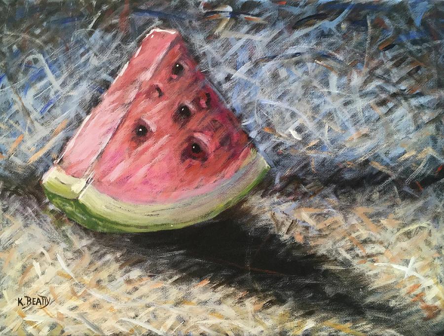 Watermelon Slice by Karla Beatty