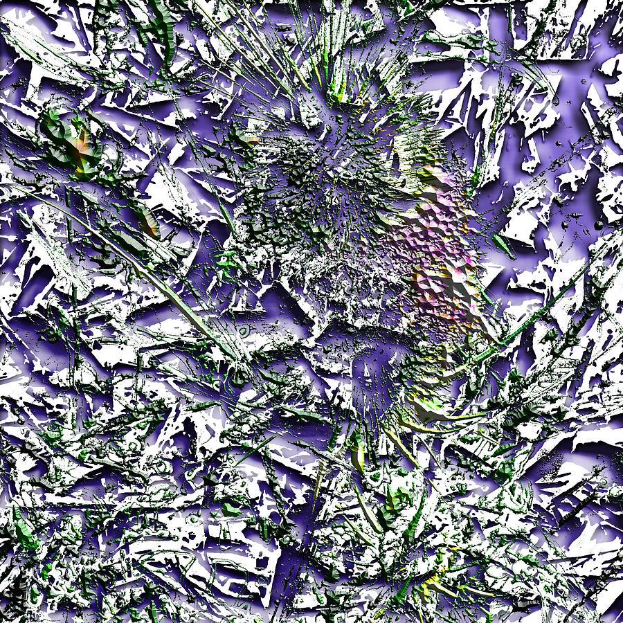 Graphic Design Digital Art - Waterplant by Aaron Kreinbrook