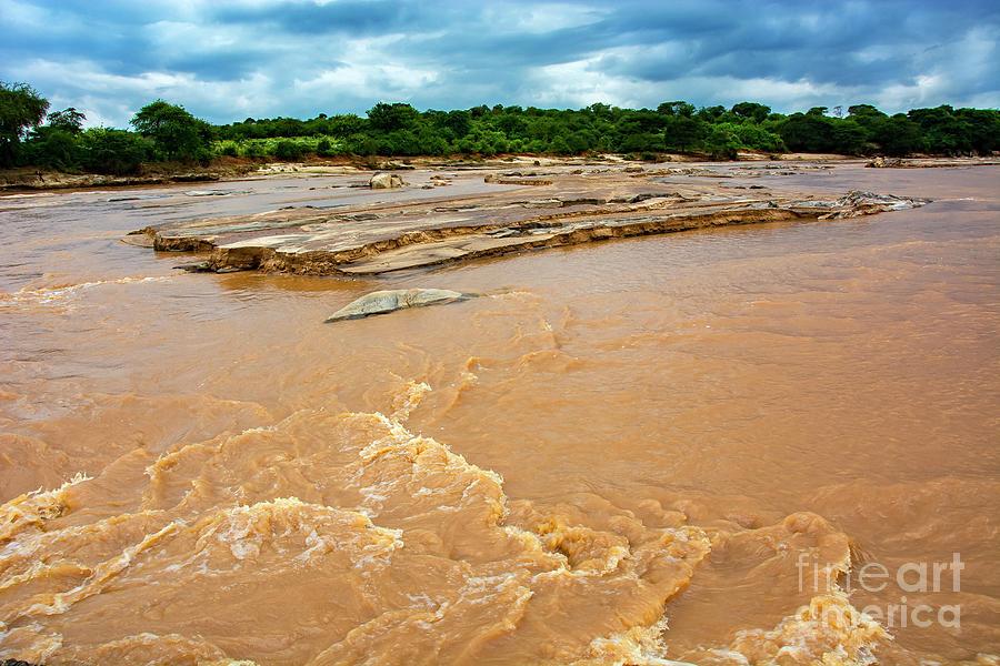 Rivers Photograph - Waters Of Thwake by Morris Keyonzo