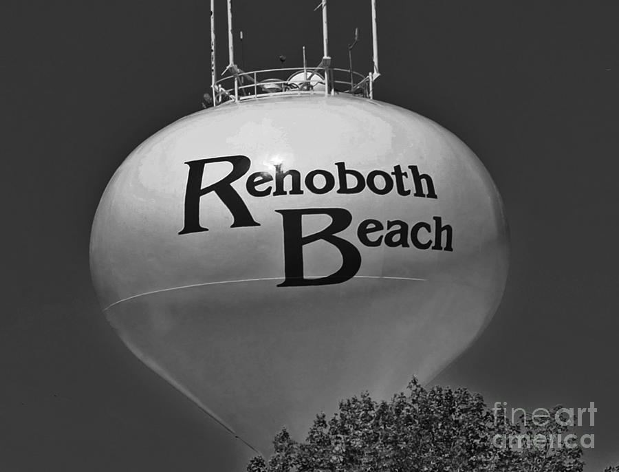 Rehoboth Photograph - Watertower Of Reho by Jost Houk