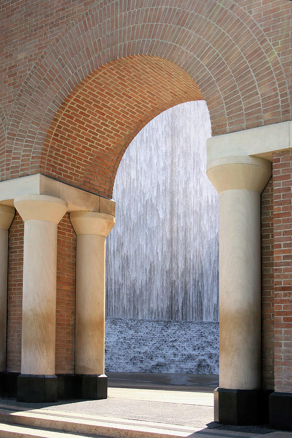 Waterwall and Arch 3 by Angela Rath