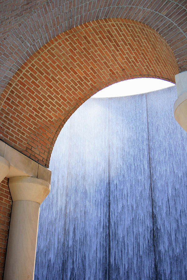 Waterwall and Arch by Angela Rath