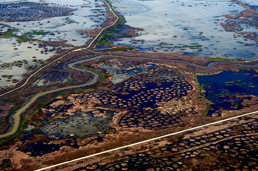 Landscape Photograph - Waterways 8 by Sylvan Adams