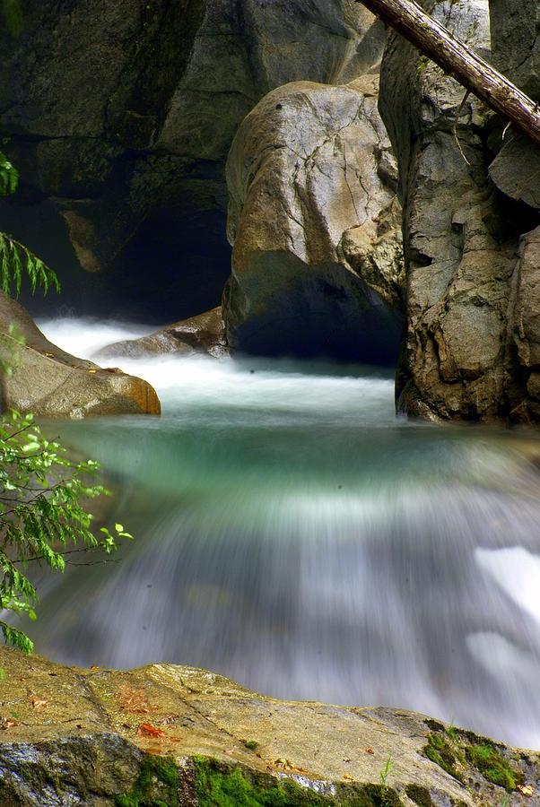 Stream Photograph - Waterworks by Marty Koch
